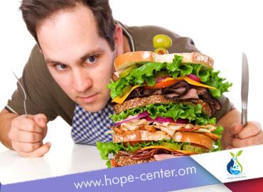 علاج الادمان علي الطعام