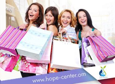 علاج الادمان من التسوق