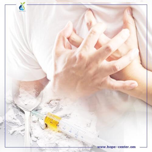 تأثير الهيروين علي القلب