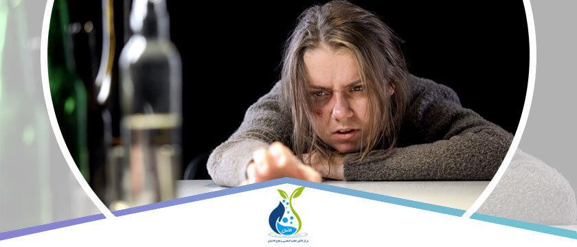 أعراض الإنسحاب من الكحول
