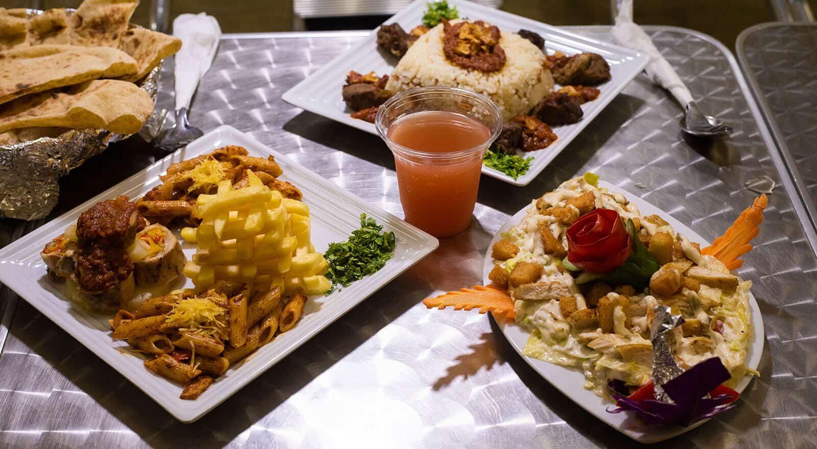وجبات صحية ضمن البرامج العلاجية